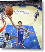 Brooklyn Nets V Philadelphia 76ers - Metal Print