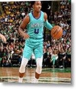 Charlotte Hornets V Boston Celtics Metal Print