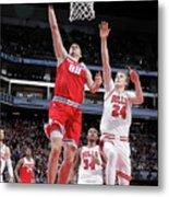 Chicago Bulls V Sacramento Kings Metal Print