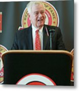 Cincinnati Reds Hall Of Fame News 5 Metal Print