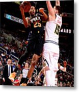 Denver Nuggets V Phoenix Suns Metal Print