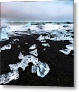 Diamond Beach Metal Print