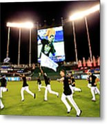 Division Series - Los Angeles Angels Of Metal Print