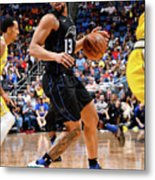 Golden State Warriors V Orlando Magic Metal Print