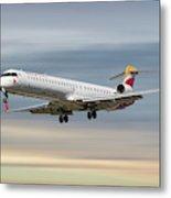 Iberia Regional Bombardier Crj-1000 Metal Print