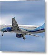 Interjet Airbus A320-214 Metal Print