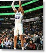 Memphis Grizzlies V Charlotte Hornets Metal Print