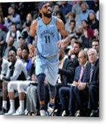 Memphis Grizzlies V San Antonio Spurs Metal Print