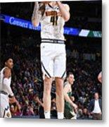 Milwaukee Bucks V Denver Nuggets Metal Print