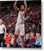 Minnesota Timberwolves V Houston Rockets Metal Print