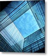 Modern Glass Architecture Metal Print