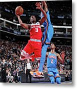 Oklahoma City Thunder V Sacramento Kings Metal Print