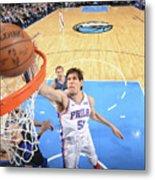 Philadelphia 76ers V Dallas Mavericks Metal Print