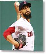 Tampa Bay Rays V Boston Red Sox 5 Metal Print