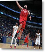 Toronto Raptors V New Orleans Pelicans Metal Print