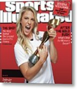Us Womens National Team 2015 Fifa Womens World Cup Champions Sports Illustrated Cover Metal Print