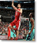 Washington Wizards V Charlotte Hornets Metal Print
