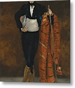 Young Man In The Costume Of A Majo  Metal Print