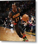 Atlanta Hawks V Denver Nuggets Metal Print