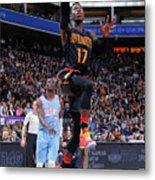 Atlanta Hawks V Sacramento Kings Metal Print