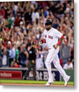 Baltimore Orioles V Boston Red Sox 6 Metal Print