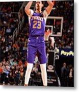 Brooklyn Nets V Phoenix Suns Metal Print