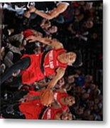 Brooklyn Nets V Portland Trail Blazers Metal Print