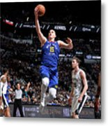 Denver Nuggets V San Antonio Spurs - Metal Print