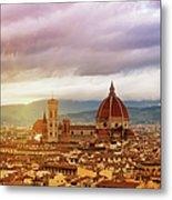 Florence, Santa Maria Del Fiore Metal Print