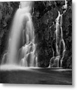 Hepokongas Waterfall Metal Print