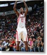 Houston Rockets V New Orleans Pelicans Metal Print
