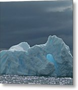 Iceberg Along The Antarctic Peninsula Metal Print