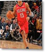 La Clippers V New Orleans Pelicans Metal Print