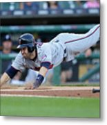 Minnesota Twins V Detroit Tigers 6 Metal Print
