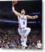 Philadelphia 76ers V Boston Celtics Metal Print