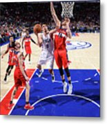 Philadelphia 76ers V Washington Wizards Metal Print