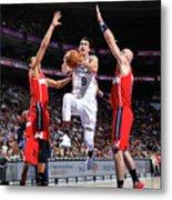 Washington Wizards V Philadelphia 76ers Metal Print