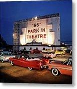 66 Park-in Theater Metal Print