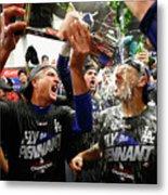 League Championship Series - Los 7 Metal Print