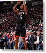 Miami Heat V Houston Rockets Metal Print