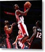 Miami Heat V Washington Wizards Metal Print
