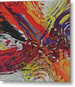My Colorful World Series Metal Print