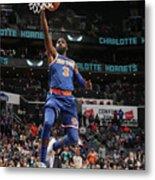 New York Knicks V Charlotte Hornets Metal Print