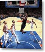 Phoenix Suns V New York Knicks Metal Print