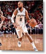 San Antonio Spurs V Houston Rockets Metal Print