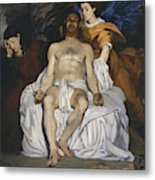 The Dead Christ With Angels  Metal Print