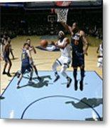 Utah Jazz V Memphis Grizzlies Metal Print