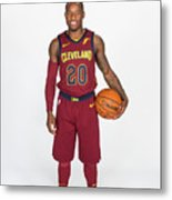 2017-18 Cleveland Cavaliers Media Day Metal Print