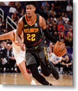 Atlanta Hawks V Phoenix Suns Metal Print