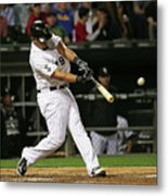 Cleveland Indians V Chicago White Sox Metal Print